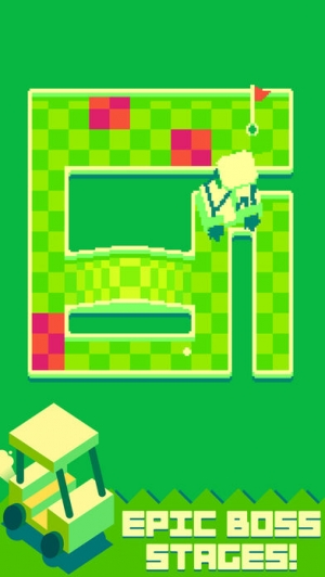 iPhone、iPadアプリ「Nano Golf: Puzzle Putting」のスクリーンショット 5枚目