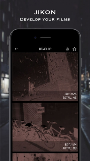 iPhone、iPadアプリ「JiKon Cam」のスクリーンショット 2枚目