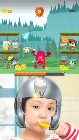 iPhone、iPadアプリ「はみがき勇者」のスクリーンショット 2枚目
