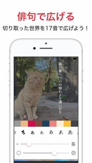 iPhone、iPadアプリ「ニシキゴイ - 俳句のSNS」のスクリーンショット 4枚目