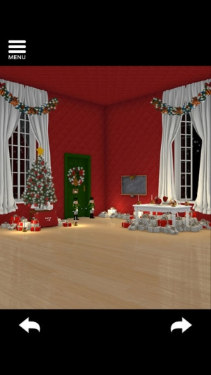 iPhone、iPadアプリ「脱出ゲーム Merry Xmas 暖炉とツリーと雪の家」のスクリーンショット 4枚目
