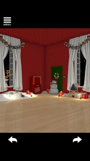 iPhone、iPadアプリ「脱出ゲーム Merry Xmas 暖炉とツリーと雪の家」のスクリーンショット 5枚目