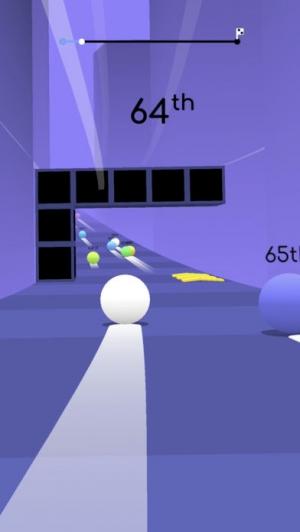 iPhone、iPadアプリ「Balls Race」のスクリーンショット 1枚目