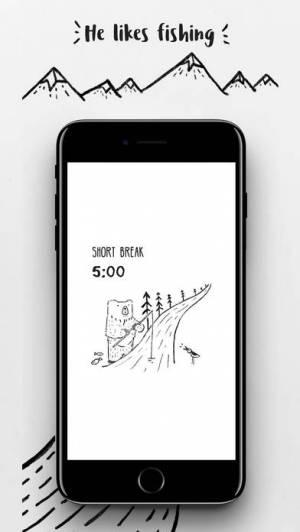 iPhone、iPadアプリ「BFT - Bear Focus Timer」のスクリーンショット 2枚目