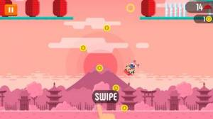 iPhone、iPadアプリ「Tap Skaters」のスクリーンショット 2枚目