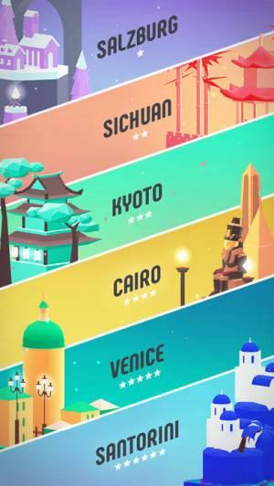 iPhone、iPadアプリ「Flip : Surfing Colors」のスクリーンショット 3枚目