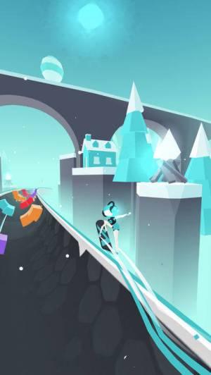 iPhone、iPadアプリ「Flip : Surfing Colors」のスクリーンショット 5枚目