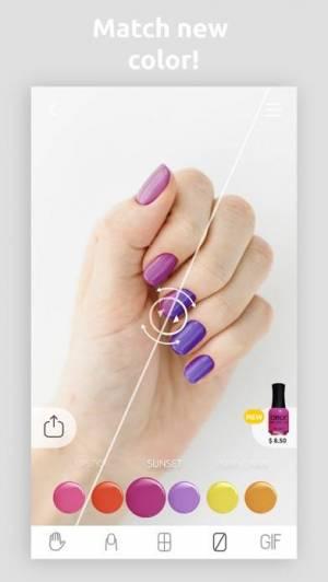 iPhone、iPadアプリ「Wanna Nails」のスクリーンショット 4枚目
