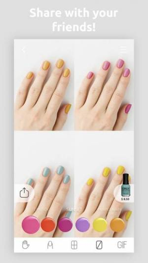 iPhone、iPadアプリ「Wanna Nails」のスクリーンショット 3枚目
