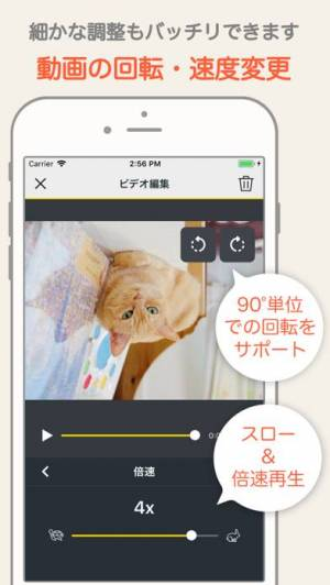 iPhone、iPadアプリ「MixClip - 動画編集 & 動画作成」のスクリーンショット 4枚目