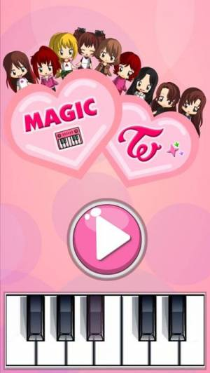 iPhone、iPadアプリ「Magic Tiles for TWICE」のスクリーンショット 1枚目