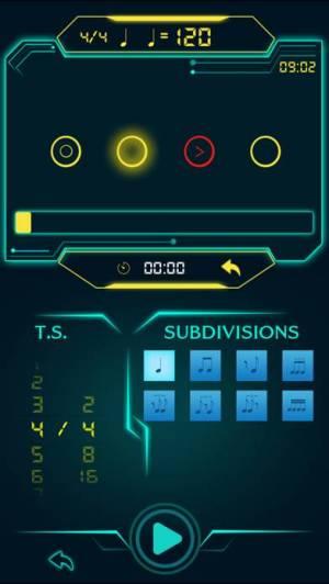 iPhone、iPadアプリ「tempohero Metronome メトロノーム」のスクリーンショット 2枚目