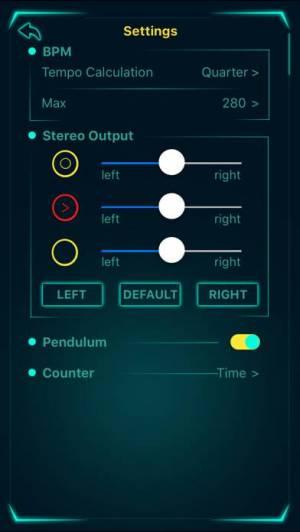 iPhone、iPadアプリ「tempohero Metronome メトロノーム」のスクリーンショット 5枚目