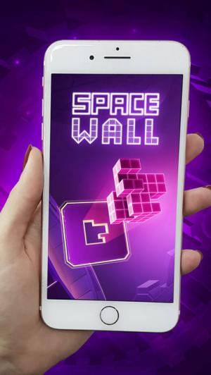 iPhone、iPadアプリ「Space Wall」のスクリーンショット 1枚目