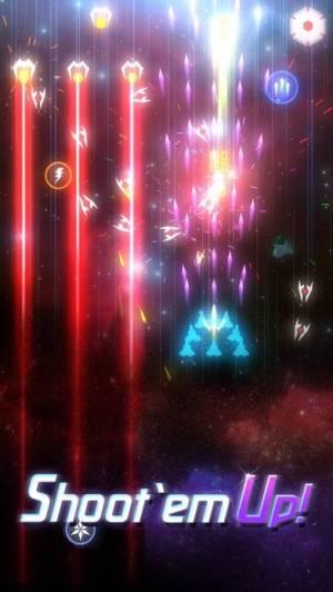 iPhone、iPadアプリ「Space Wingmen: Arcade Shooting」のスクリーンショット 1枚目