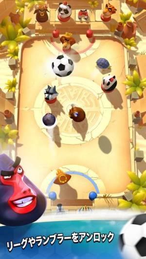 iPhone、iPadアプリ「ランブルスターズ サッカー」のスクリーンショット 2枚目