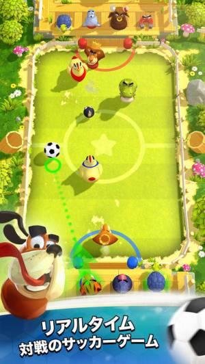 iPhone、iPadアプリ「ランブルスターズ サッカー」のスクリーンショット 1枚目