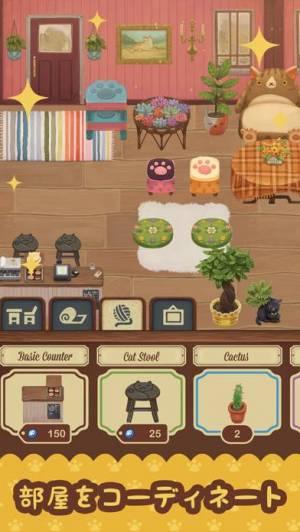iPhone、iPadアプリ「ファリスタズ 猫カフェ」のスクリーンショット 3枚目