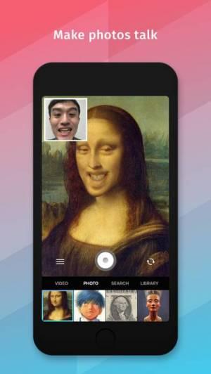iPhone、iPadアプリ「Xpression - バーチャル乗っ取りフェイス」のスクリーンショット 2枚目