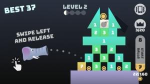 iPhone、iPadアプリ「Block Balls」のスクリーンショット 2枚目