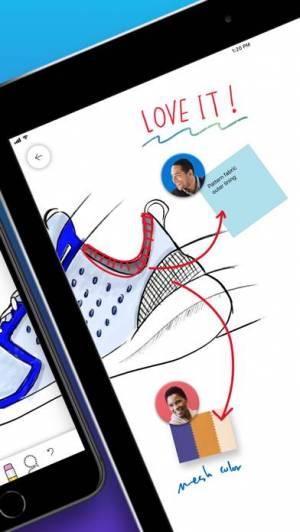 iPhone、iPadアプリ「Microsoft Whiteboard」のスクリーンショット 2枚目