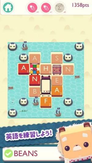 iPhone、iPadアプリ「Alphabear 2」のスクリーンショット 2枚目