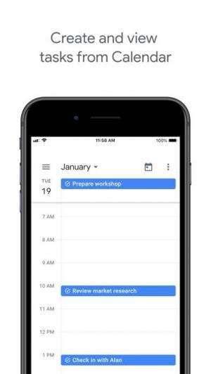 iPhone、iPadアプリ「Google ToDo」のスクリーンショット 4枚目