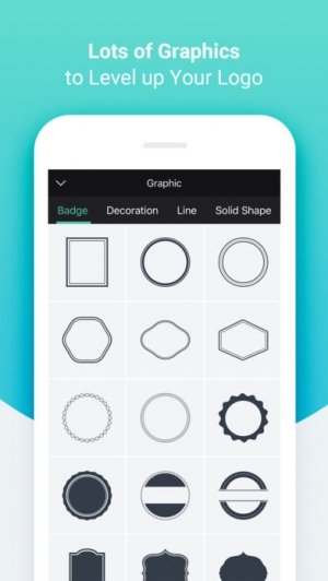iPhone、iPadアプリ「DesignEvo - Logo Maker」のスクリーンショット 4枚目