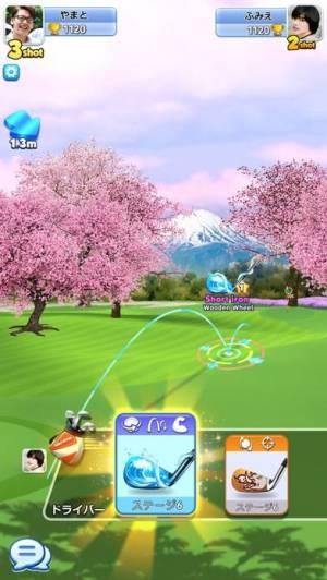 iPhone、iPadアプリ「Golf Rival」のスクリーンショット 1枚目