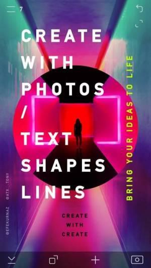 iPhone、iPadアプリ「CREATE Pro - クリエイト: グラフィックデザイン」のスクリーンショット 3枚目