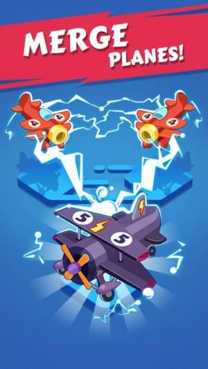 iPhone、iPadアプリ「Merge Plane - Best Idle Game」のスクリーンショット 4枚目