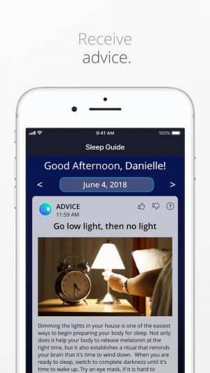 iPhone、iPadアプリ「SleepScore™」のスクリーンショット 3枚目