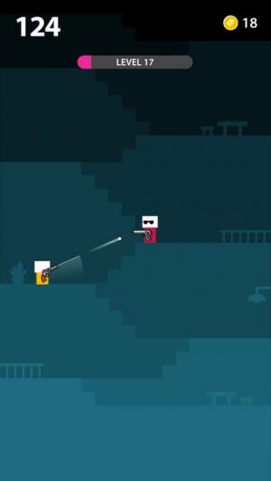 iPhone、iPadアプリ「Mr Gun」のスクリーンショット 1枚目