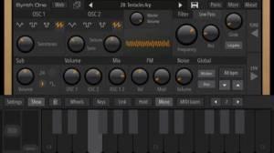 iPhone、iPadアプリ「AudioKit Synth One Synthesizer」のスクリーンショット 4枚目