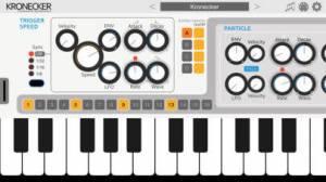 iPhone、iPadアプリ「Kronecker Synthesizer」のスクリーンショット 3枚目