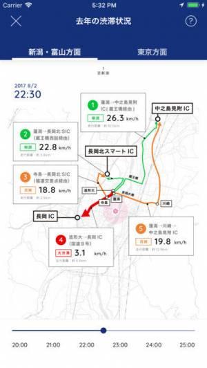 iPhone、iPadアプリ「長岡花火道路交通情報」のスクリーンショット 4枚目
