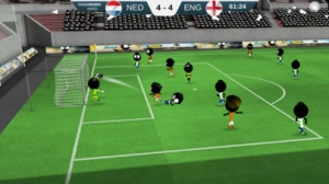 iPhone、iPadアプリ「Stickman Soccer 2018」のスクリーンショット 1枚目