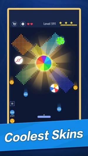 iPhone、iPadアプリ「ブレーク ブリックス - ボールの冒険」のスクリーンショット 3枚目