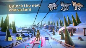 iPhone、iPadアプリ「Animal Adventure Downhill Rush」のスクリーンショット 5枚目