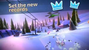 iPhone、iPadアプリ「Animal Adventure Downhill Rush」のスクリーンショット 2枚目