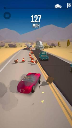 iPhone、iPadアプリ「Great Race - Route 66」のスクリーンショット 3枚目