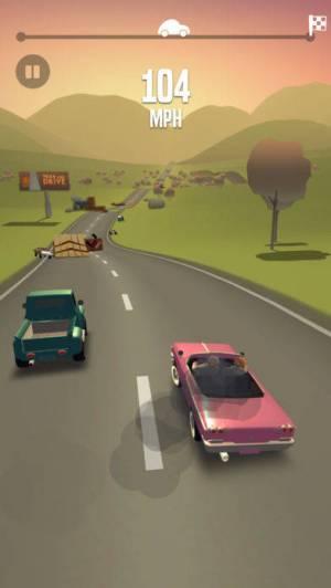 iPhone、iPadアプリ「Great Race - Route 66」のスクリーンショット 4枚目