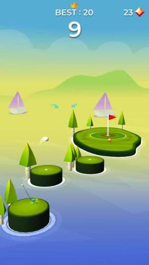 iPhone、iPadアプリ「ポップショット!ゴルフ」のスクリーンショット 4枚目