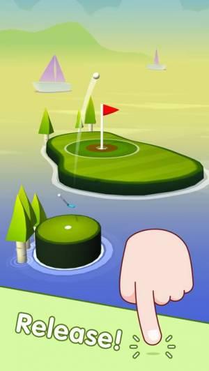 iPhone、iPadアプリ「ポップショット!ゴルフ」のスクリーンショット 2枚目