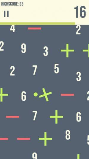 iPhone、iPadアプリ「Mathuba - Arcade Math Ball」のスクリーンショット 1枚目
