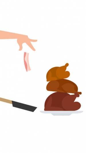 iPhone、iPadアプリ「Bacon – The Game」のスクリーンショット 1枚目