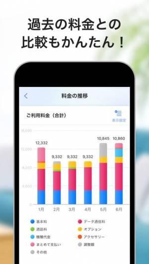 iPhone、iPadアプリ「My SoftBank」のスクリーンショット 2枚目