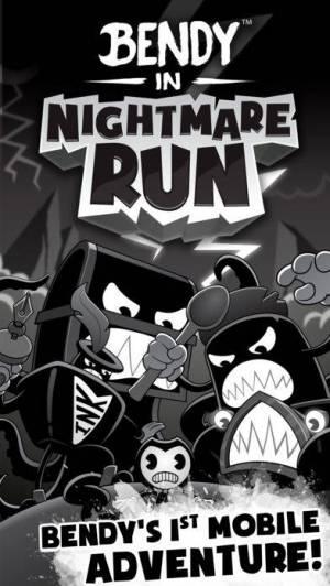 iPhone、iPadアプリ「Bendy™ in Nightmare Run」のスクリーンショット 1枚目
