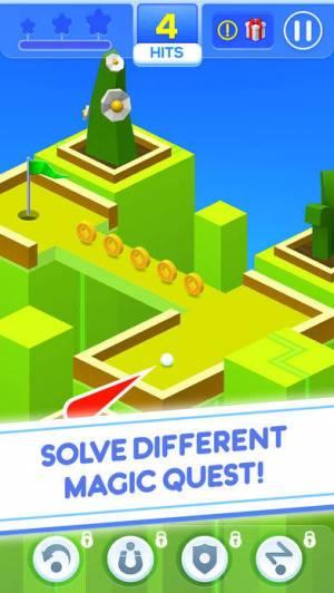 iPhone、iPadアプリ「Mini Golf Magic」のスクリーンショット 1枚目