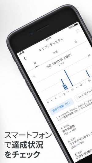 iPhone、iPadアプリ「Google Fit – アクティビティ トラッカー」のスクリーンショット 5枚目